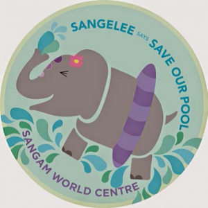 Save Our Pool badge